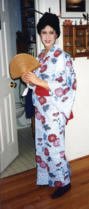 japanese kimono, Intl. Night May 1995.jpg